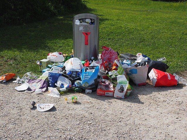 Civisme : élimination des déchets
